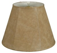 "Royal Designs Timeless 12"" Faux Leather Empire Lamp Shade ..."