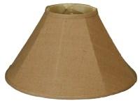 "Royal Designs Timeless 20"" Burlap Empire Lamp Shade   eBay"