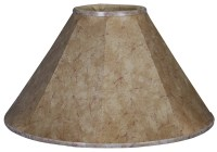 "Royal Designs Timeless Coolie 14"" Faux Leather Empire Lamp ..."