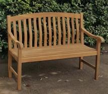 Crestwood Seymour Teak Garden Bench