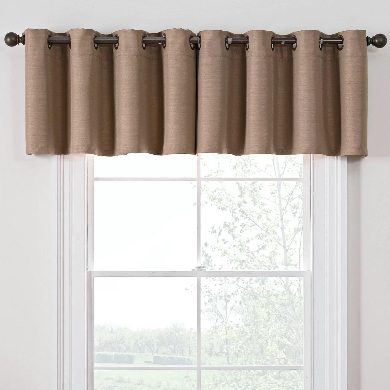 Style Domain Antique Satin 52 Curtain Valance