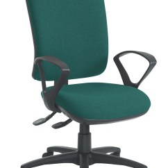 Ergonomic Chair Levers Unusual Design Office Basics Senza High Back 2 Lever Task Ebay