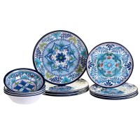 Certified International Talavera 12 Piece Heavy Weight ...