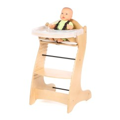 High Chair Basket Revolving Daraz Badger Embassy Wood With Tray Ebay