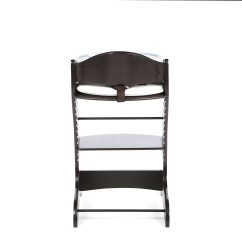 Restaurant High Chair With Tray Tall Black Kitchen Table And Chairs Badger Basket Embassy Wood Ebay