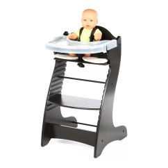 Restaurant High Chair With Tray Wingback Upholstery Ideas Badger Basket Embassy Wood Ebay
