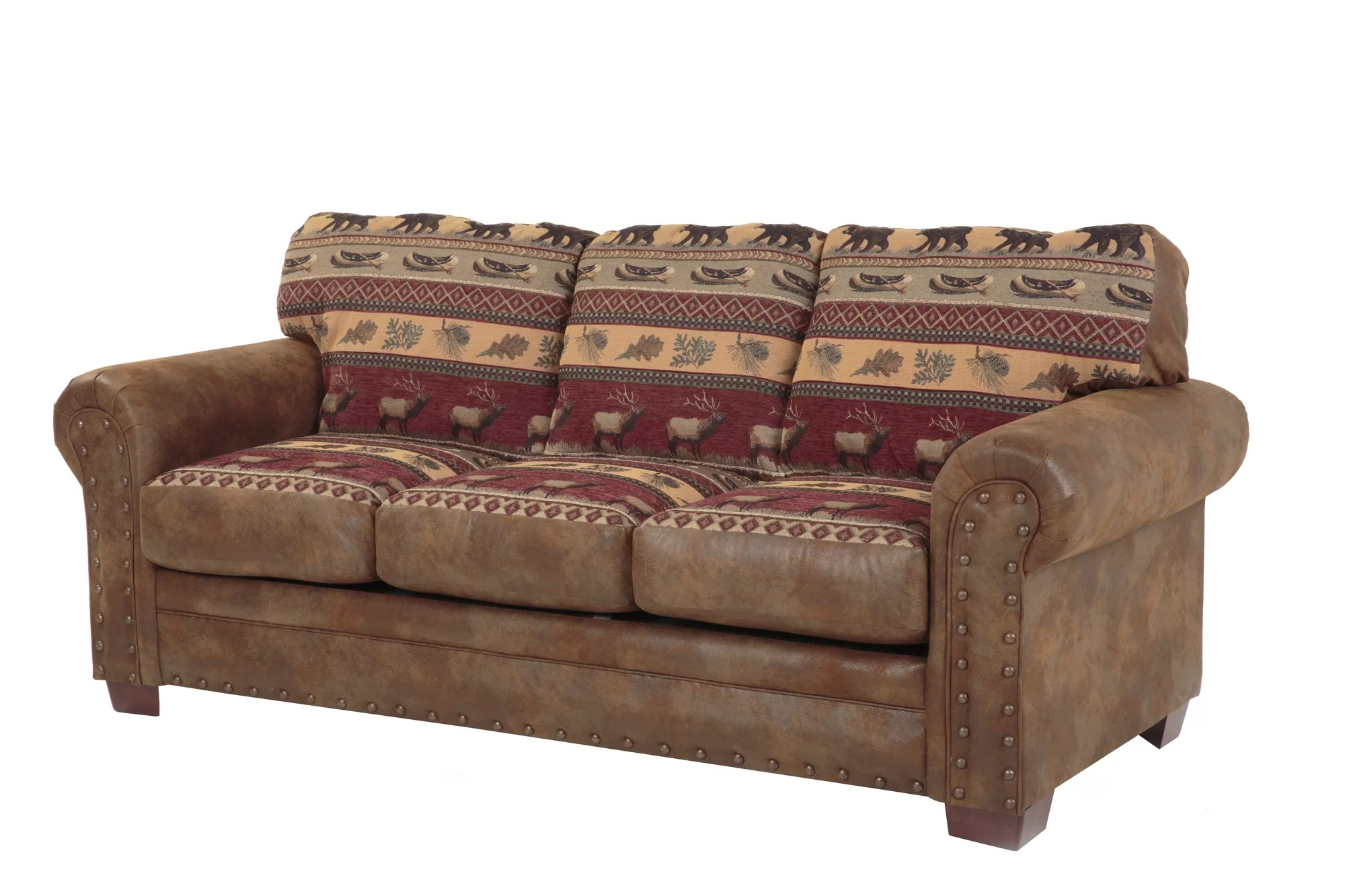 american furniture sleeper sofa decorating ideas with red leather classics sierra lodge ebay