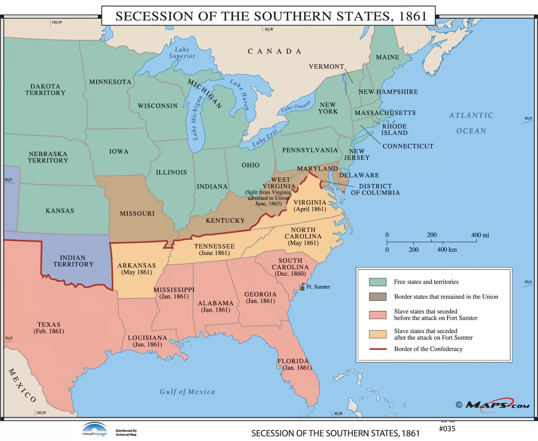 Civil War Secession Worksheet