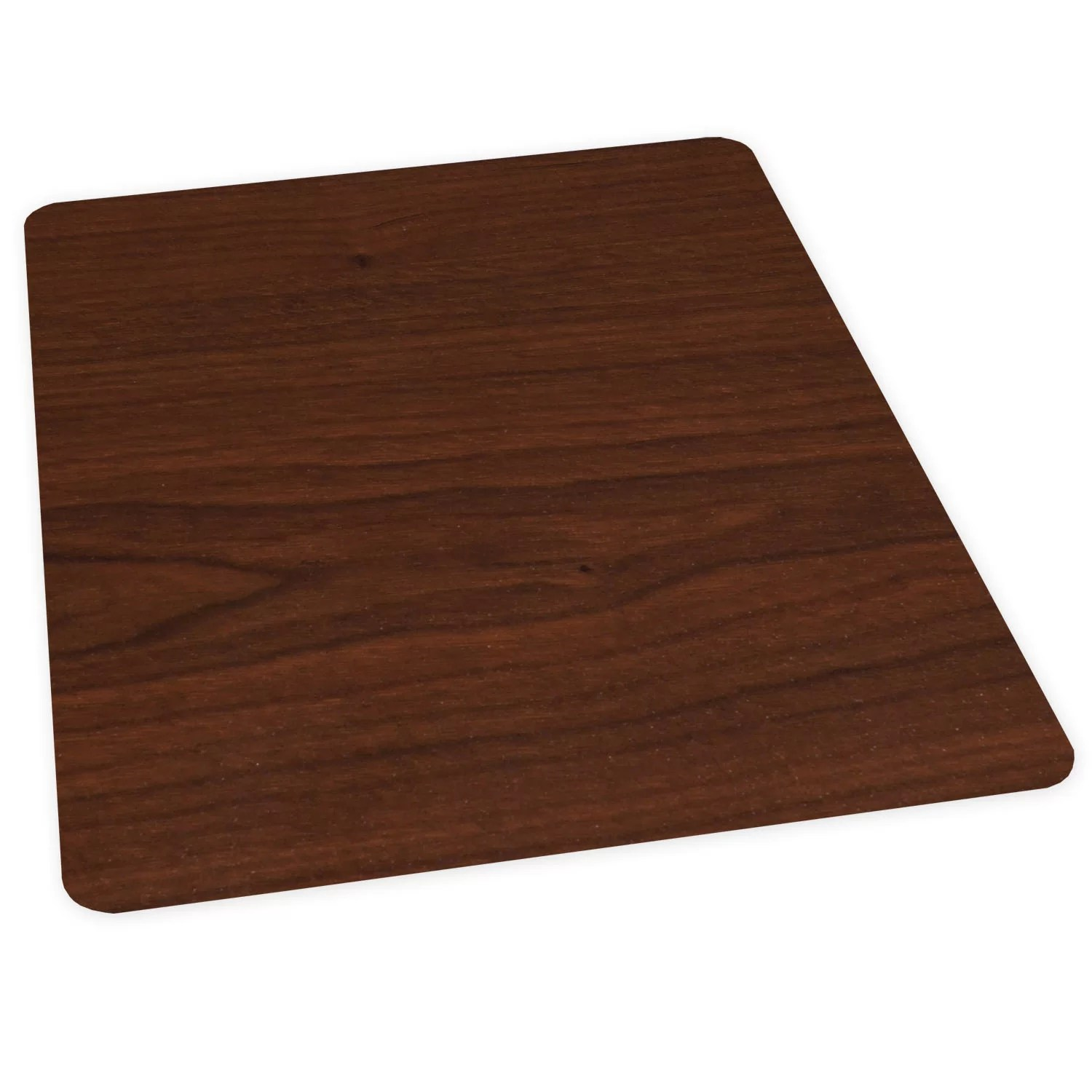 Chair Floor Mat Es Robbins Corporation Wood Veneer Style Hard Floor