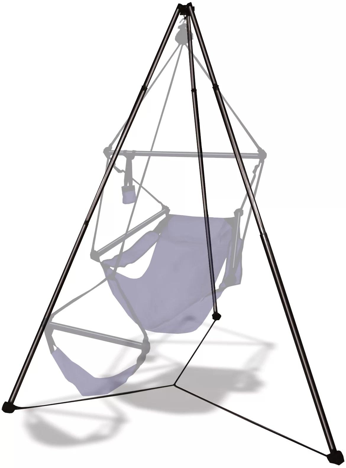 hammock chair stand kijiji bench table stool hammaka tripod hanging aluminum ebay