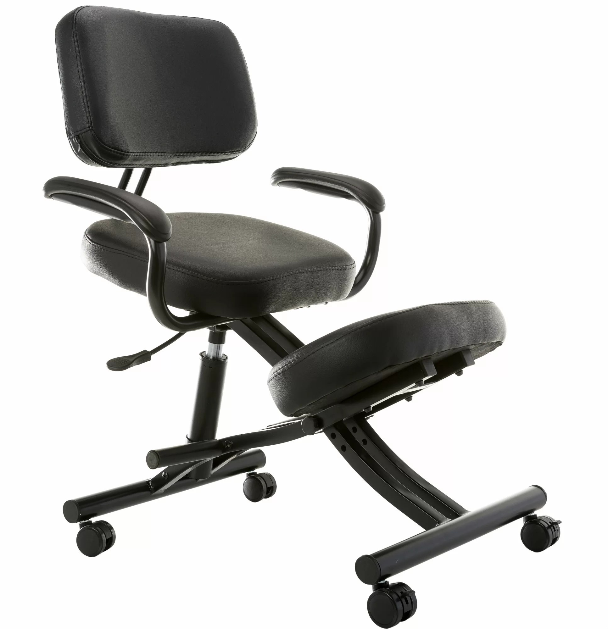 Ergonomic Chair Kneeling Sierra Comfort Ergonomic Low Back Kneeling Chair