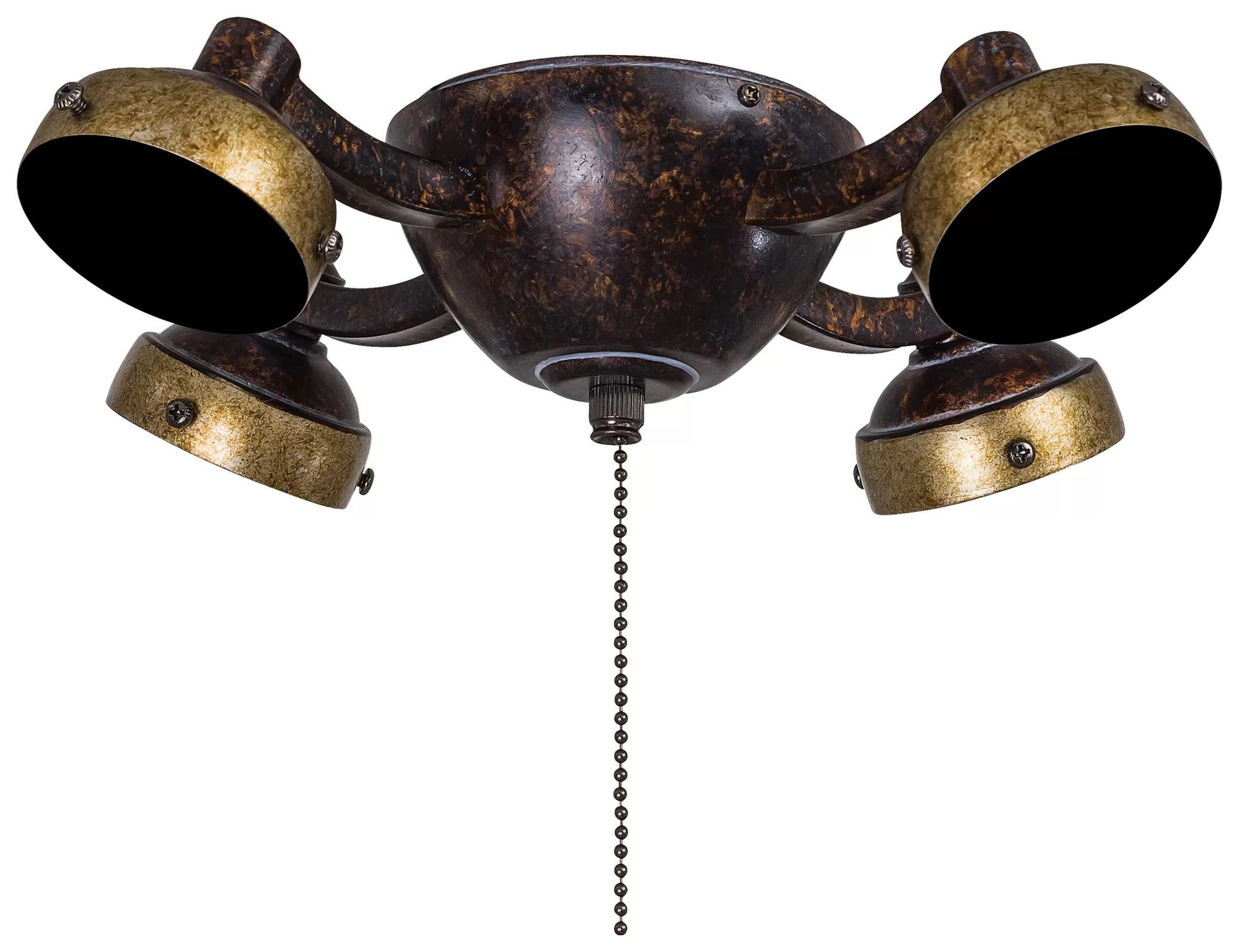 Minka Aire 4light Universal Ceiling Fan Light Kit Ebay