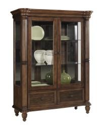 Maple Finish Curio Cabinet  Cabinets Matttroy