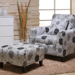 Microfiber Club Chair With Ottoman Upholstered Arm Dining Armen Living Marietta And On Popscreen