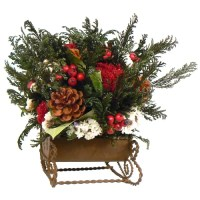 Christmas Centerpieces Buy Holiday Faux Floral Centerpieces