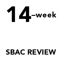 Intensive SBAC Review Pacing Guides