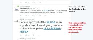Look at the RED tweet.