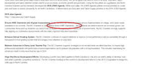 """To see the entire """"education talent supply pipeline' agenda: http://ncchamber.net/2015-jobs-agenda-education-talent-supply/"""