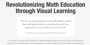 If you learn best  visually, this is fine. However, no every child learns visually!