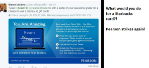 Pearson and Starbucks..'pimping out' education one student at a time.