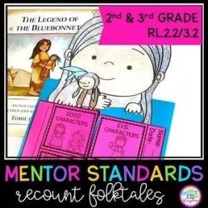 Recount Folktales Mentor Texts- 2nd Grade RL.2.2 & 3rd Grade RL.3.2