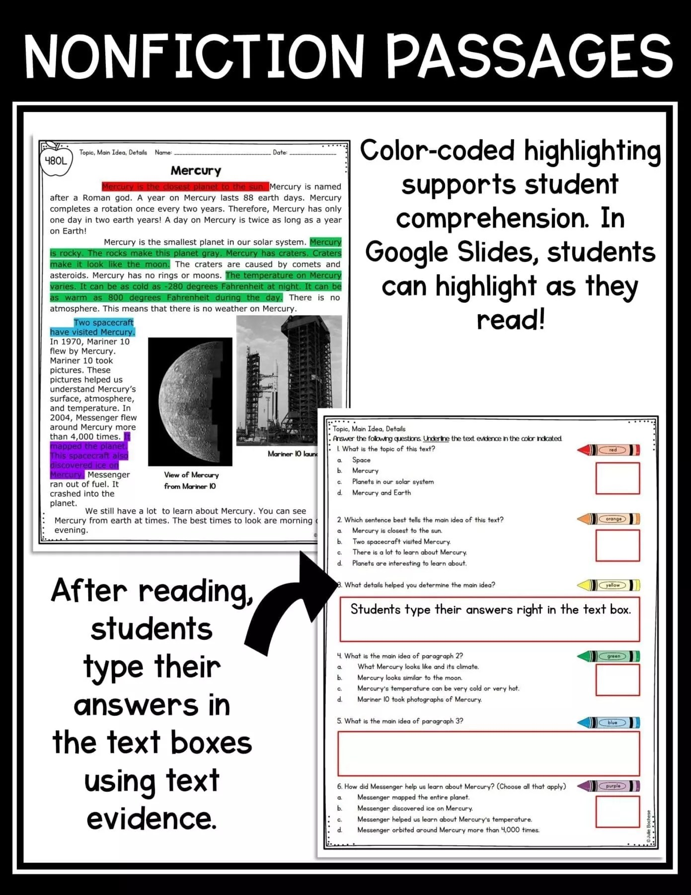small resolution of Main Idea \u0026 Details 2nd \u0026 3rd Grade   Common Core Kingdom