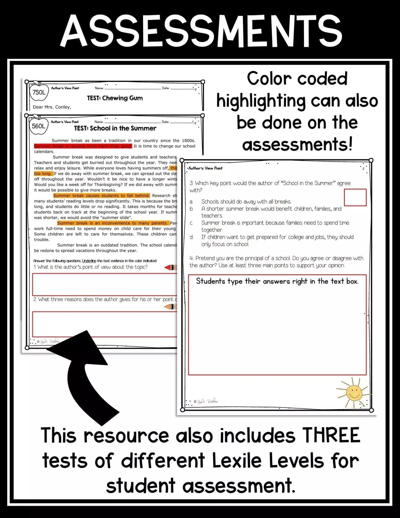 hight resolution of 3rd grade Author's Viewpoint in Nonfiction RI.3.6  Common Core Kingdom