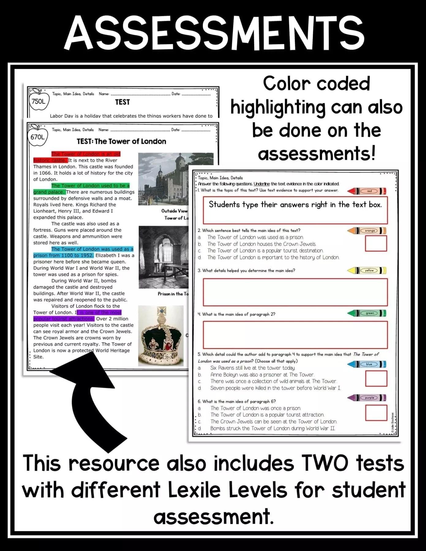 hight resolution of Main Idea \u0026 Details 2nd \u0026 3rd Grade   Common Core Kingdom
