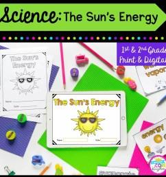 Sun Energy Mini Unit- 1st \u0026 2nd Grade Google Slides \u0026 Seesaw Distance  Learning   Common Core Kingdom [ 1800 x 1800 Pixel ]