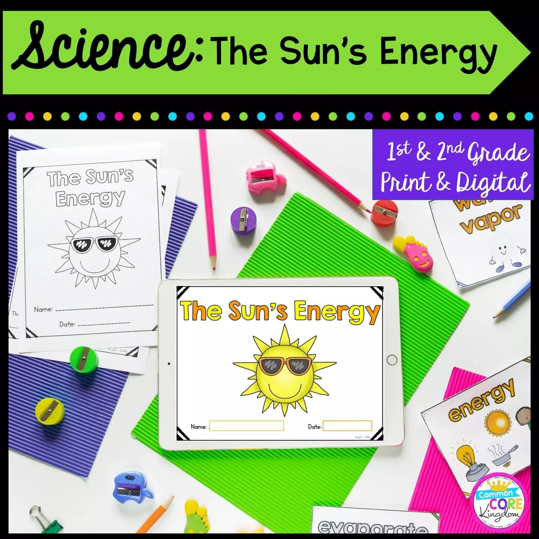 hight resolution of Sun Energy Mini Unit- 1st \u0026 2nd Grade Google Slides \u0026 Seesaw Distance  Learning   Common Core Kingdom