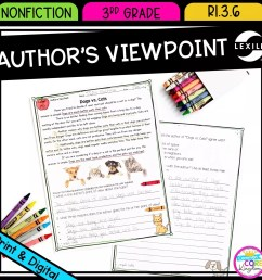 3rd grade Author's Viewpoint in Nonfiction RI.3.6  Common Core Kingdom [ 1800 x 1800 Pixel ]