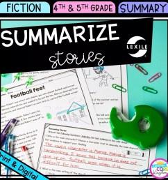 Summarize Stories 4th \u0026 5th Grade - Google Distance Learning   Common Core  Kingdom [ 1800 x 1800 Pixel ]