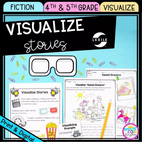 small resolution of Visualizing Stories 4th \u0026 5th Grade - Printable \u0026 Digital - Google Slides  Distance Learning   Common Core Kingdom