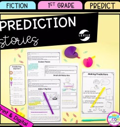 Making Predictions 1st Grade - Google Distance Learning   Common Core  Kingdom [ 1800 x 1800 Pixel ]