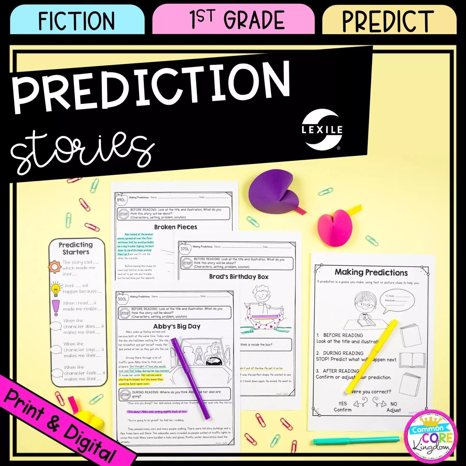 hight resolution of Making Predictions 1st Grade - Google Distance Learning   Common Core  Kingdom