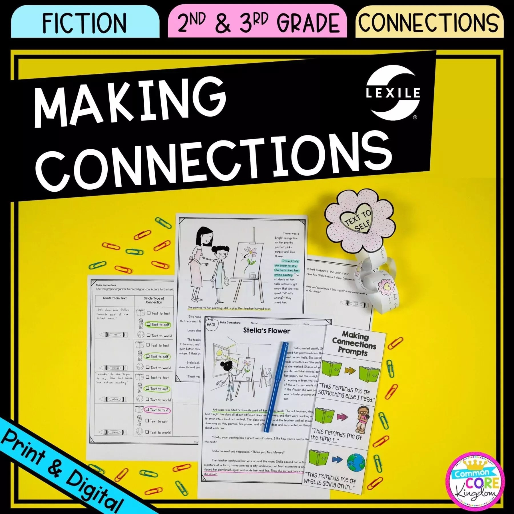 hight resolution of Making Connections 2nd \u0026 3rd Grade - Google Distance Learning   Common Core  Kingdom
