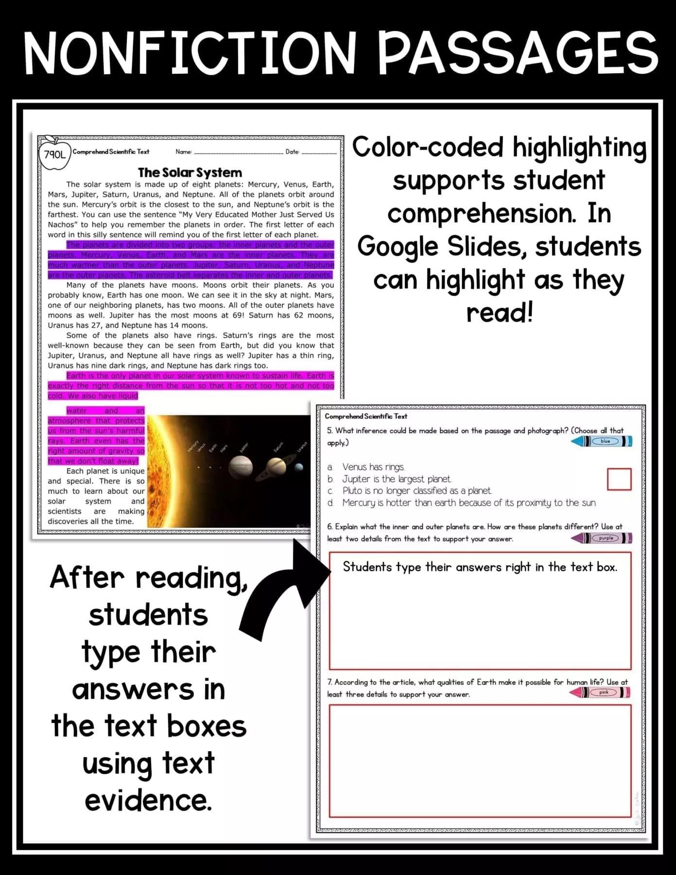 Comprehend Informational Text RI.4.20 RI.5.10  Common Core Kingdom [ 1800 x 1391 Pixel ]