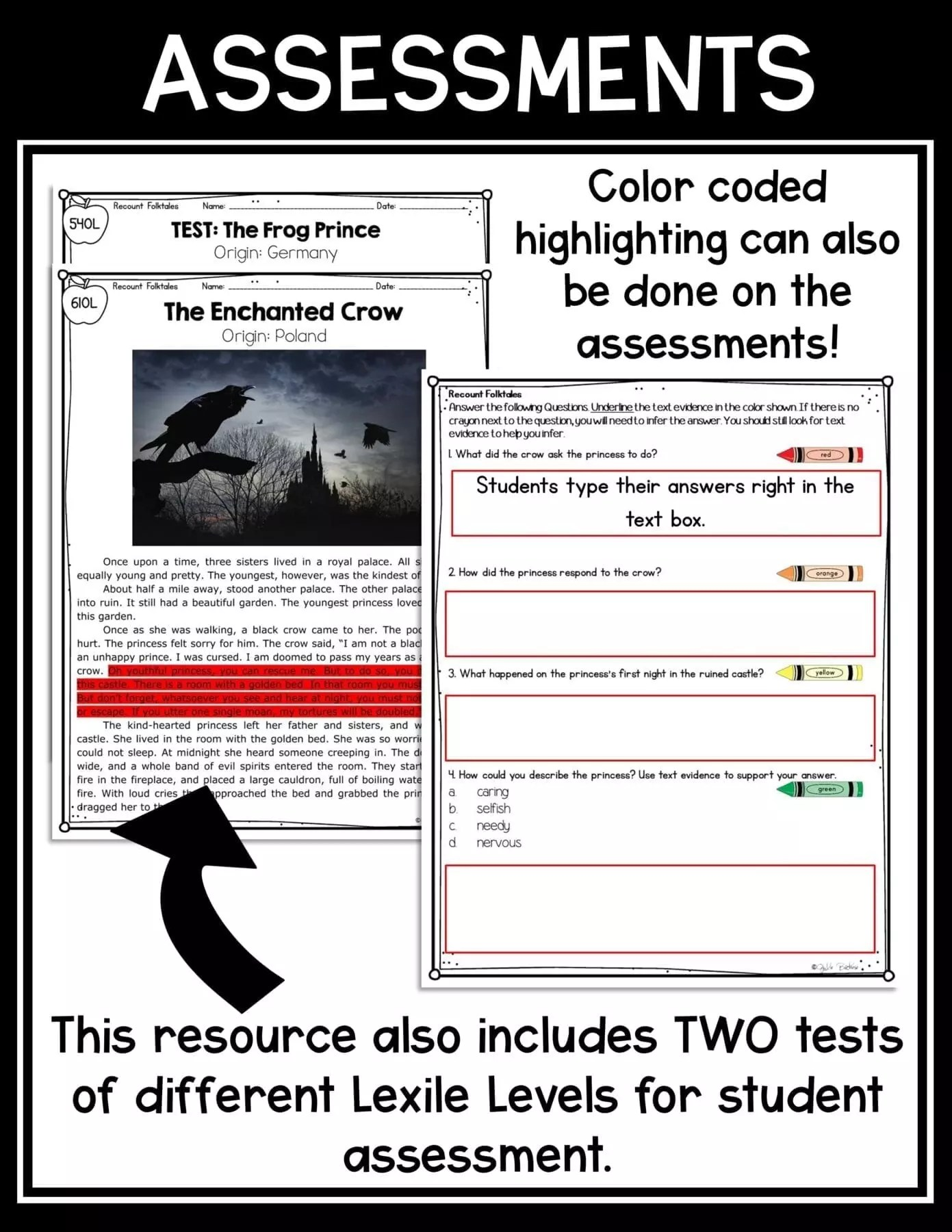 hight resolution of Folktales and Fairytales Recount Stories   Common Core Kingdom
