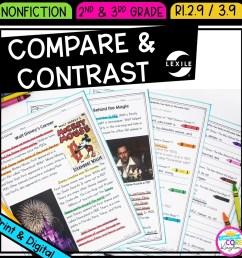 Compare \u0026 Contrast 2nd \u0026 3rd Grade   Common Core Kingdom [ 1800 x 1800 Pixel ]