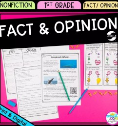 Fact and Opinions 1st Grade - Google Distance Learning   Common Core Kingdom [ 1800 x 1800 Pixel ]