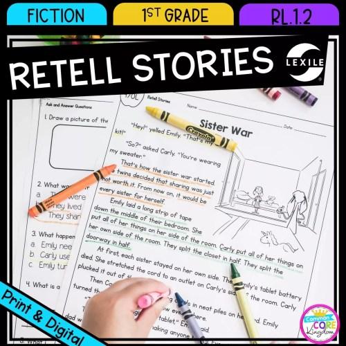 small resolution of retell stories 1st grade rl 12   printable digital google slides