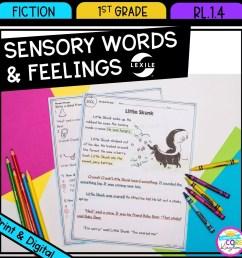 sensory words and feelings 1st grade rl14   google slides [ 1800 x 1800 Pixel ]
