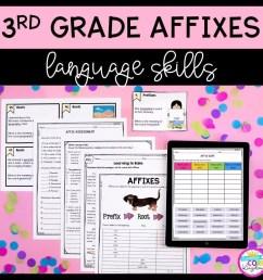3rd Grade Affixes Unit \u0026 Task Cards - PDF \u0026 Google Slides Distance Learning  Pack   Common Core Kingdom [ 1024 x 1024 Pixel ]