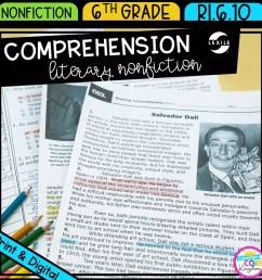 Literary Nonfiction Reading Comprehension   Common Core Kingdom [ 1800 x 1800 Pixel ]