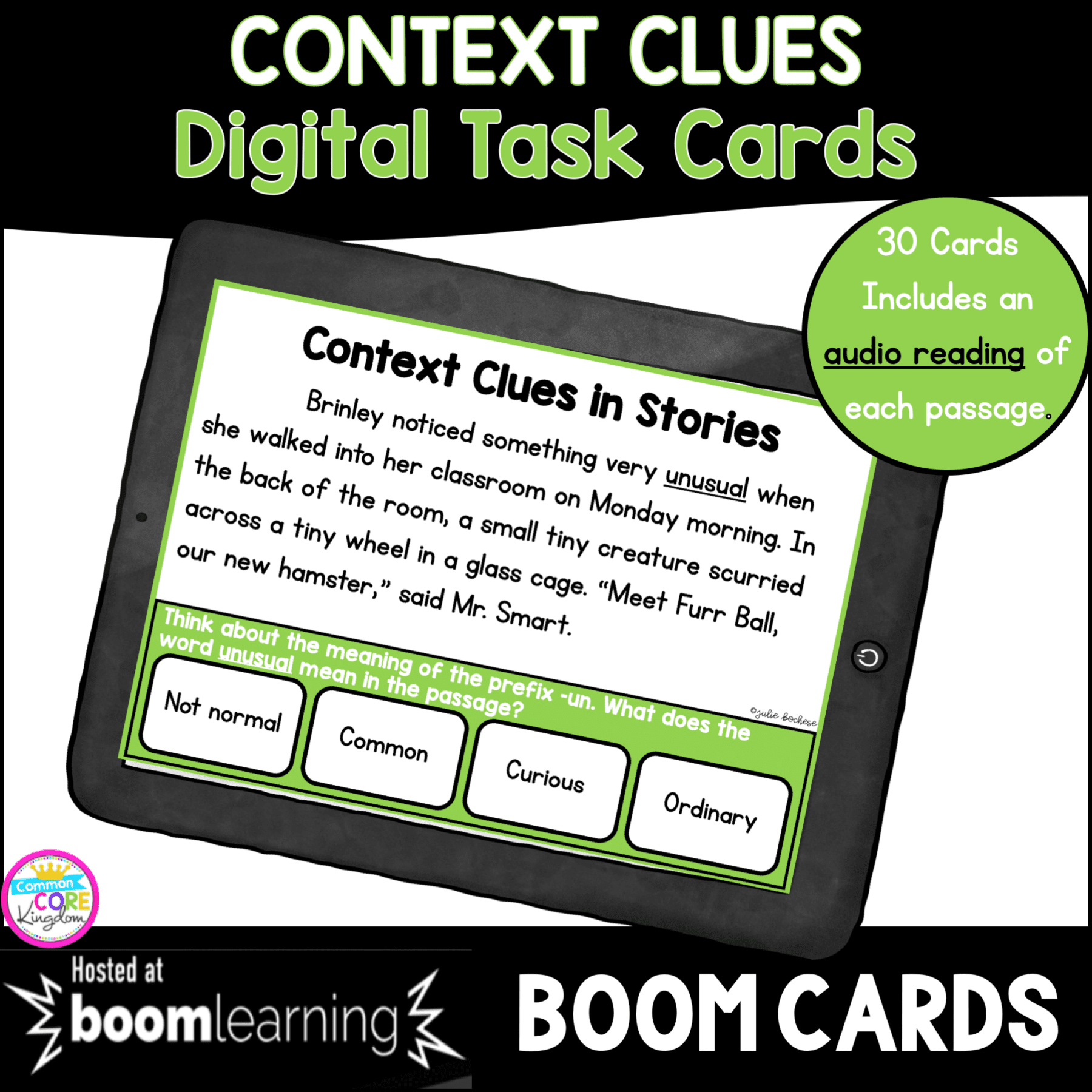 hight resolution of Context Clues in Stories Boom Cards 3rd Grade   Common Core Kingdom
