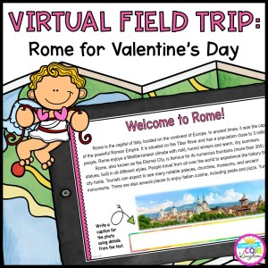 Virtual Field Trip to Rome for Valentine's Day
