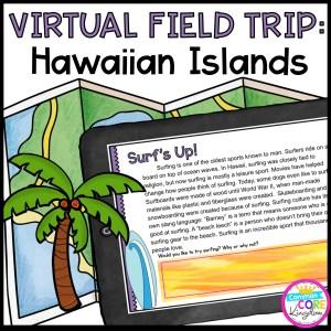 Virtual Field Trip to Hawaii in Google Slides & Seesaw Format
