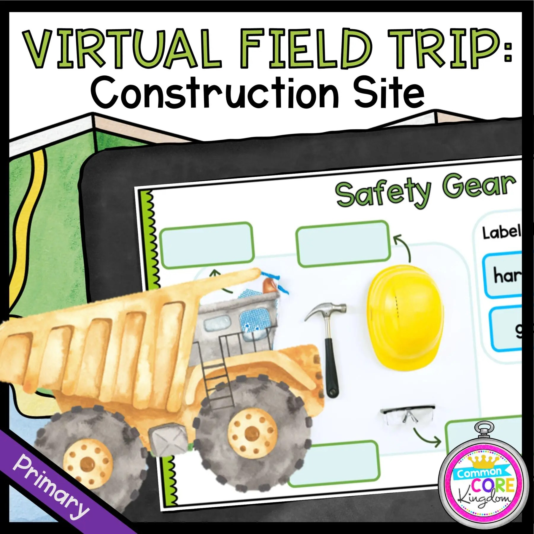 Virtual Field Trip to a Construction Site - Primary ...