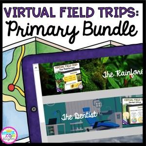 Primary Virtual Field Trips - GROWING Bundle in Google Slides & Seesaw Format