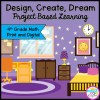 Design, Create, Dream! Project Based Learning for 4th Grade in Printable & Google Slides Format